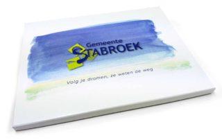 Gemeente Stabroek kaart doos