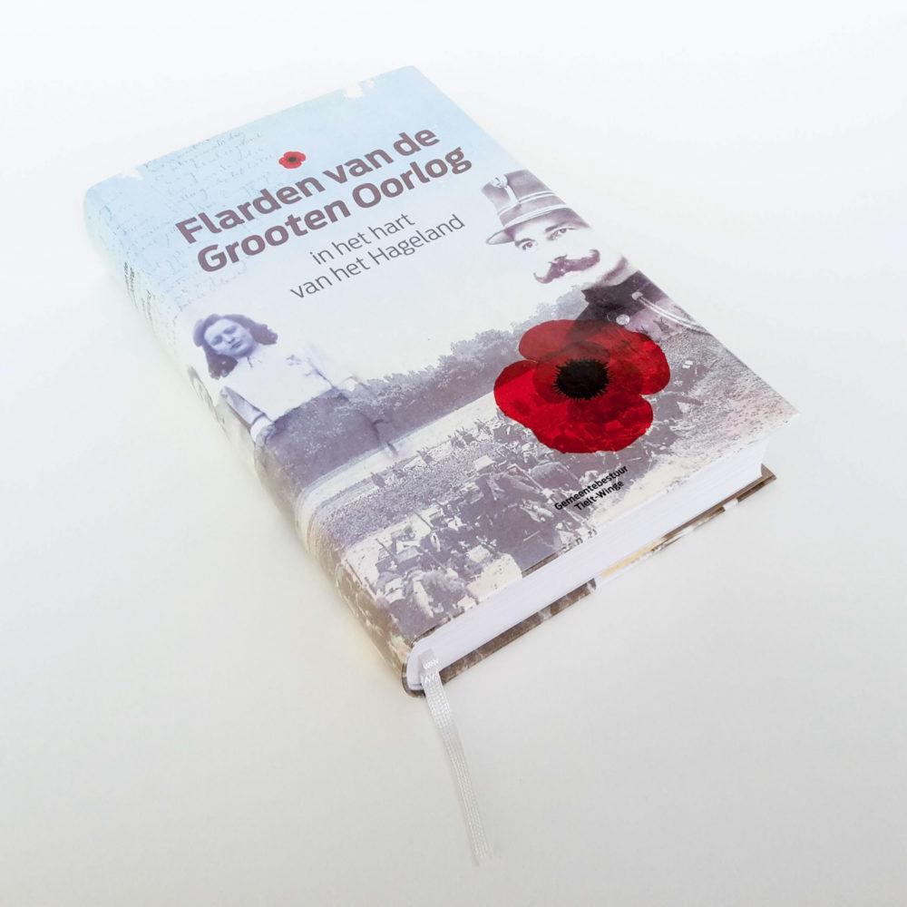 Hardcover met leeslint
