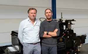 Bart De Bie en Mark Peeters