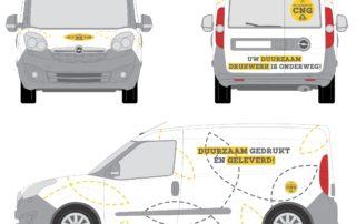 Bestelwagen Aardgas