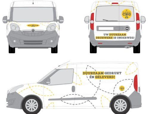 Bestelwagen op aardgas, voor milieuvriendelijke leveringen!
