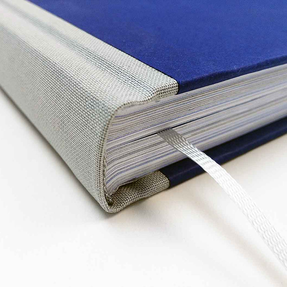 Vermeiren hardcover boek stoffen rug 3