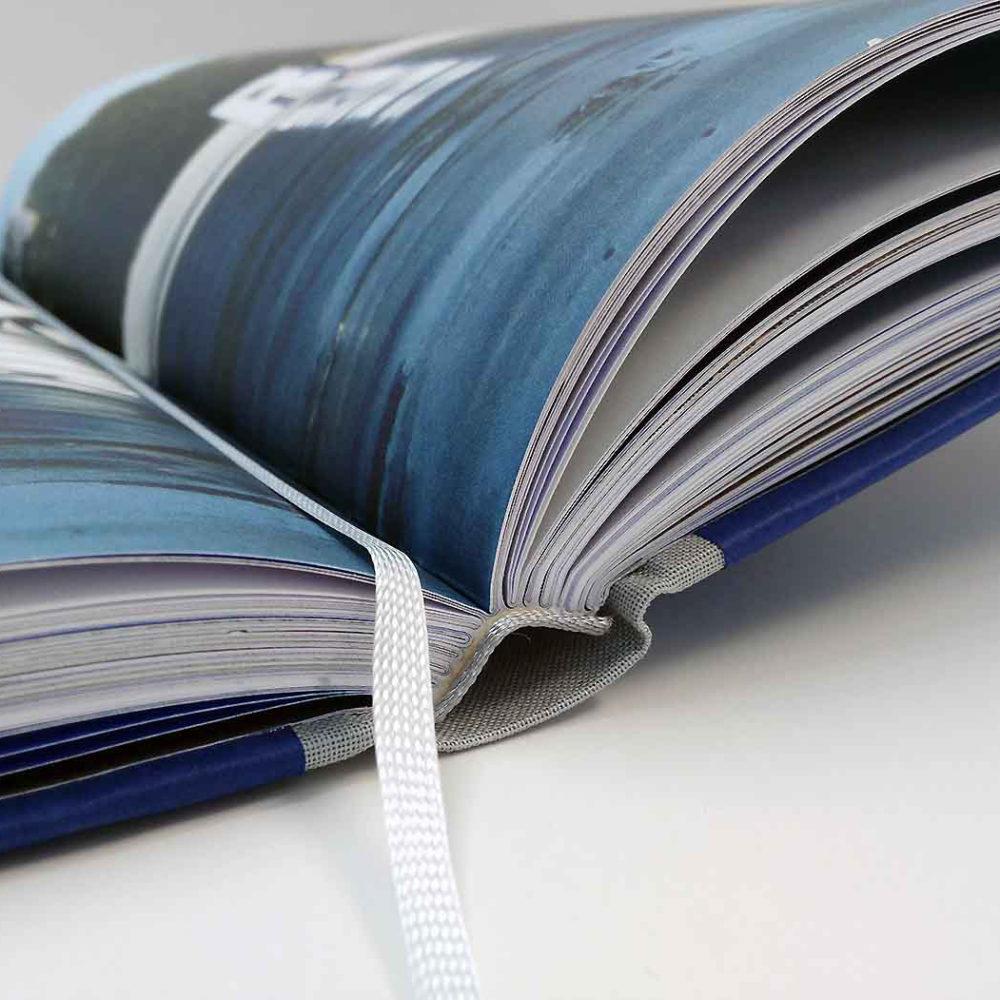 Vermeiren hardcover boek stoffen rug