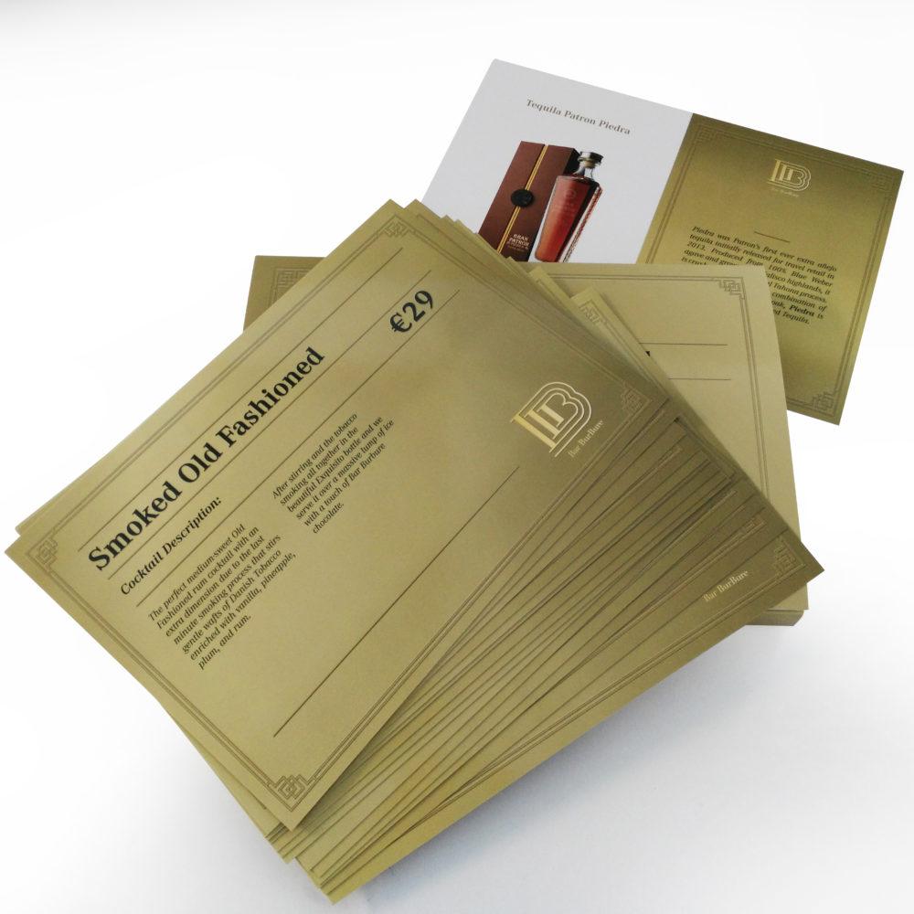 Verpakking clubcards