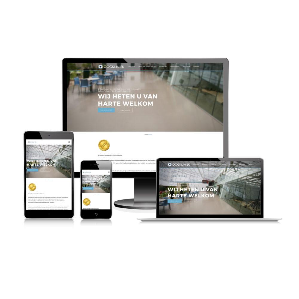 Website Oogkliniek