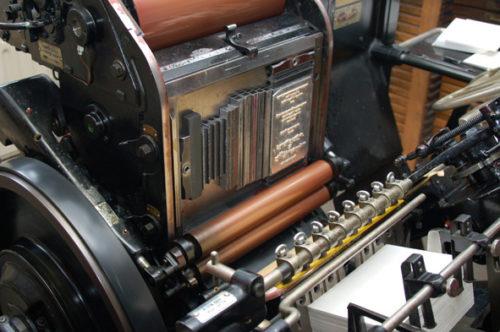 Letterpress Heidelberg