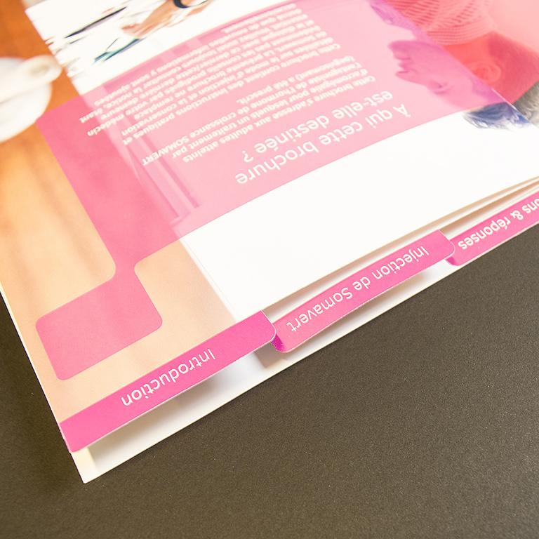 Pfizer brochure met pochette 3