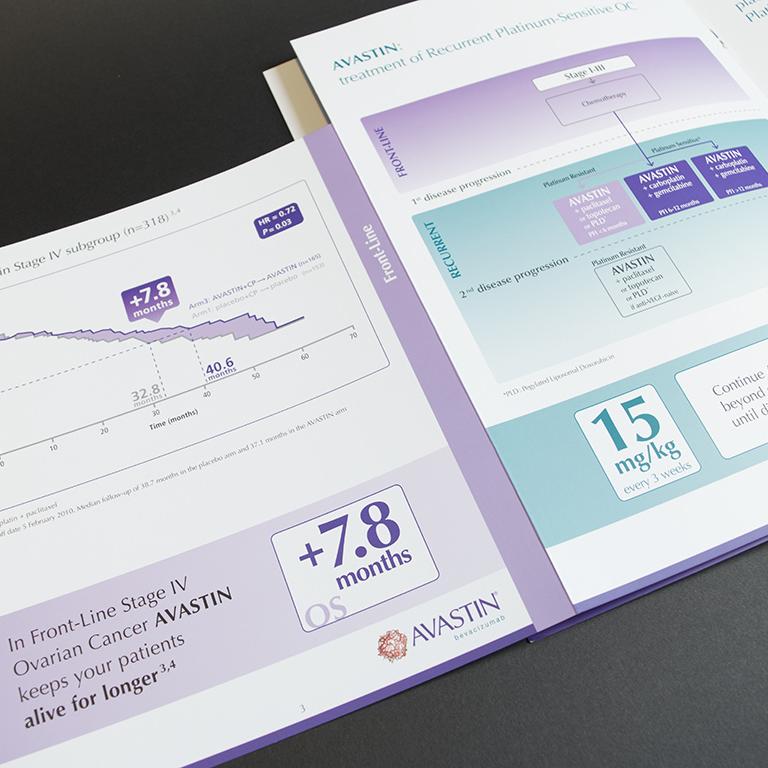 Roche brochure met pochet en tabs 4