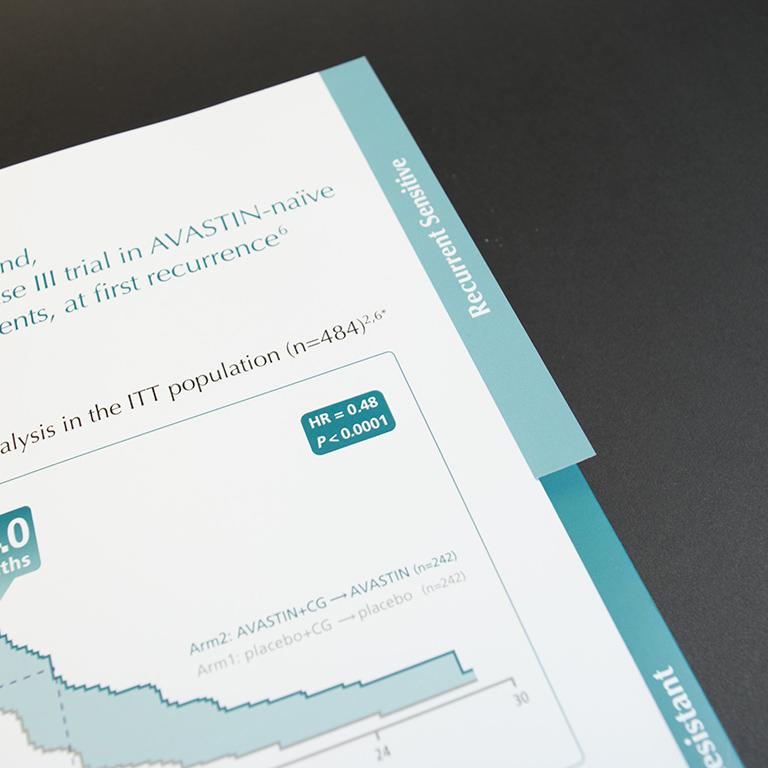 Roche brochure met pochet en tabs 3