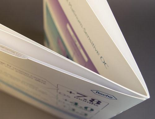 Brochure met tabuitsparingen en pochet