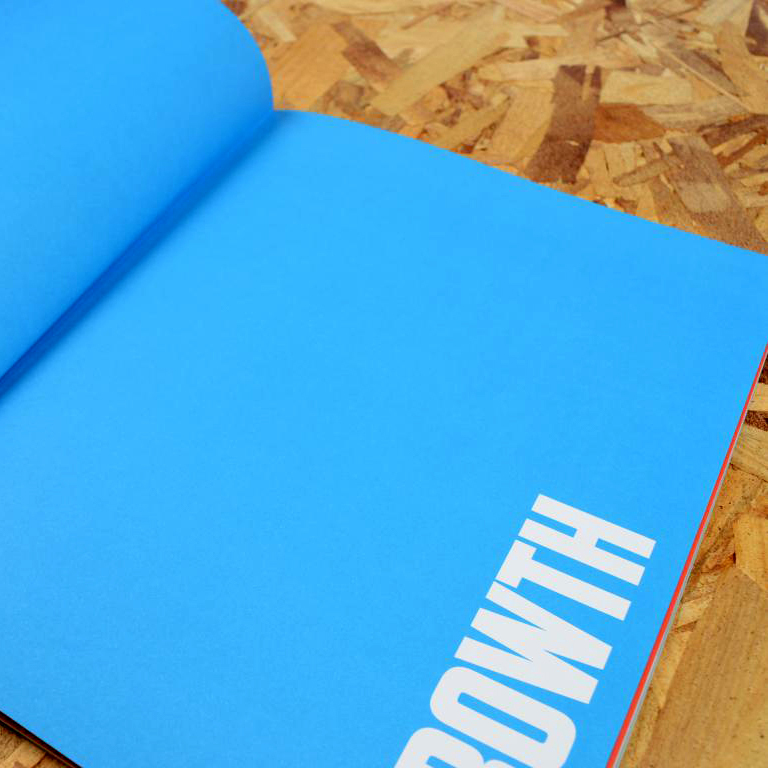 Pur boek ongestreken papier 2