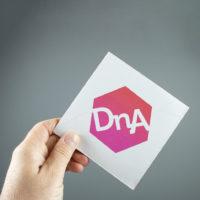 DNA folder met speciale vouwwijze 4