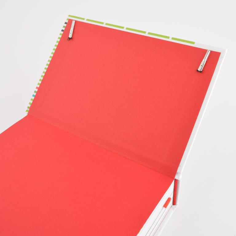 Provant hardcover met leeslint en elastieken sluiting 3