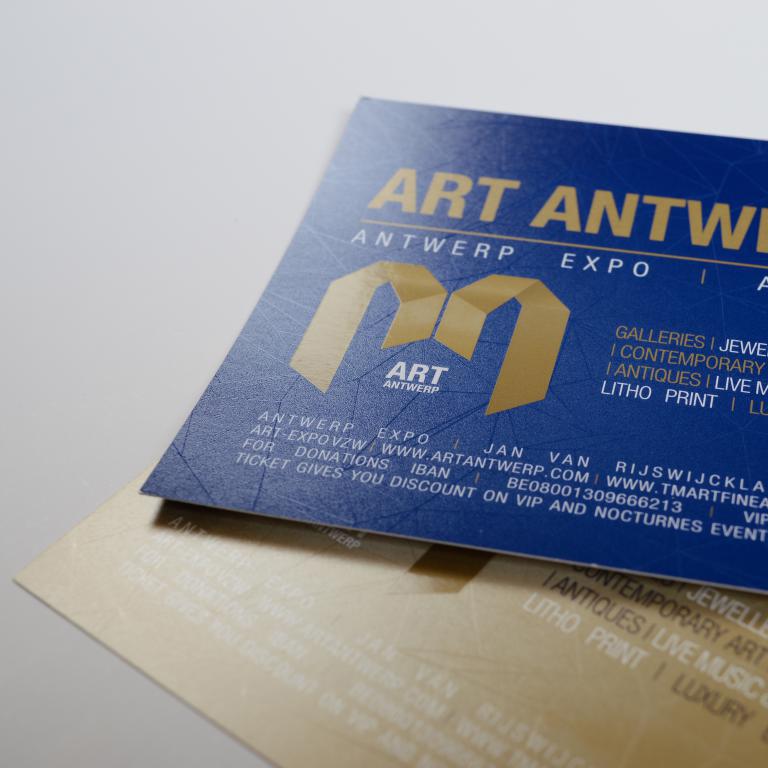 Art Antwerp kaart met dripoff lak 2