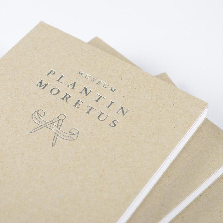 Plantin Moretus museum boek met open rug 3