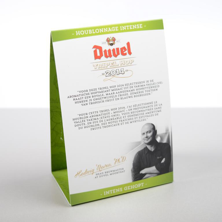 Duvel tabletten met blinddruk 2