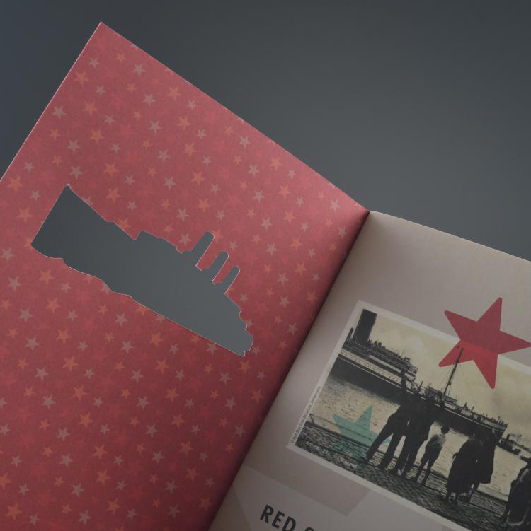 Red Star Line brochure met stans 4