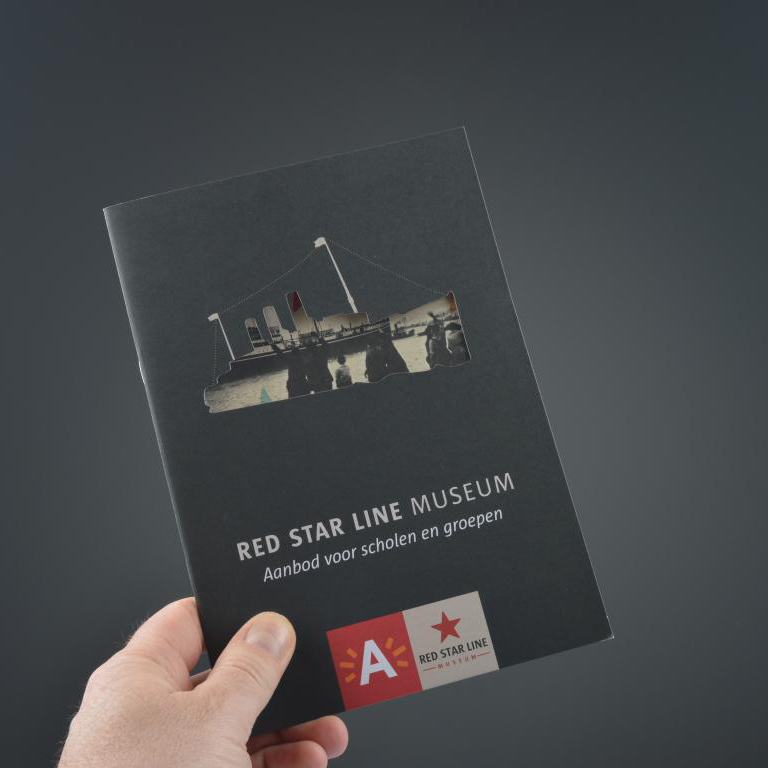 Red Star Line brochure met stans 3