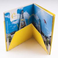 Cmine brochure met pop-up