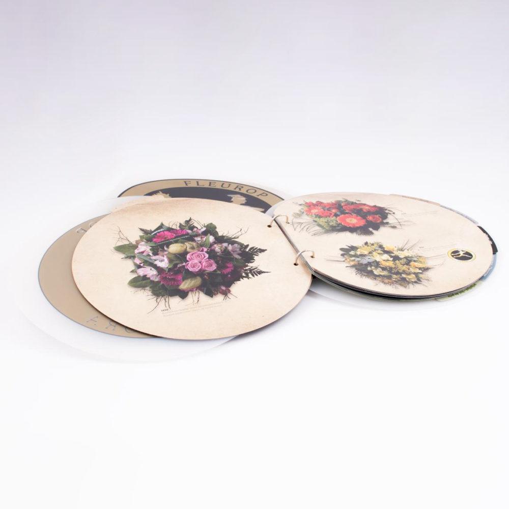 Belflora ronde plastiek met met tabbladen 3