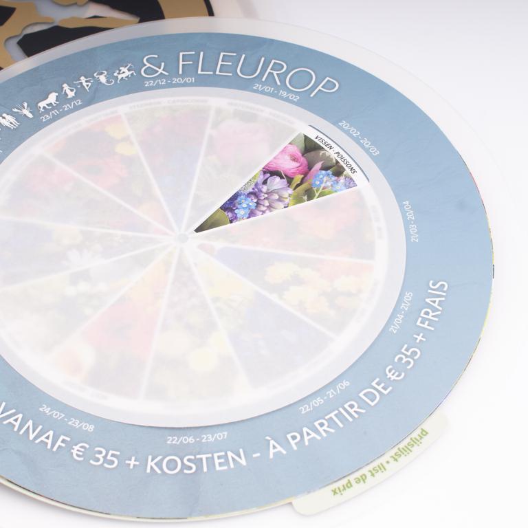 Belflora ronde plastiek met met tabbladen 2