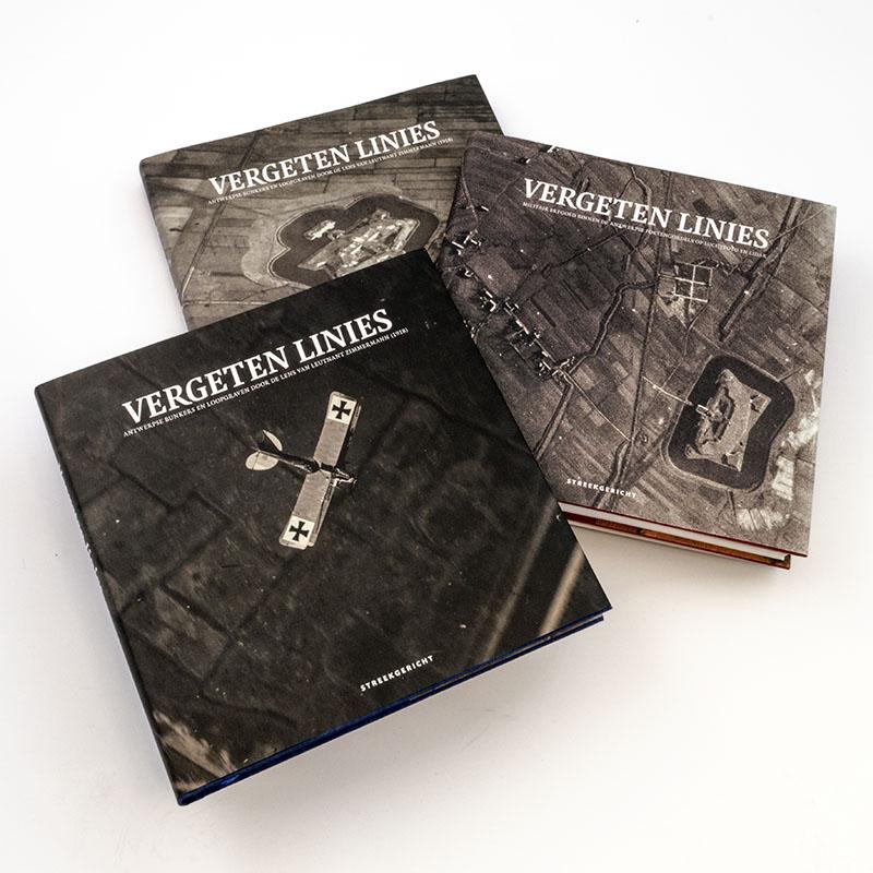 Boek Vergeten Linies cover