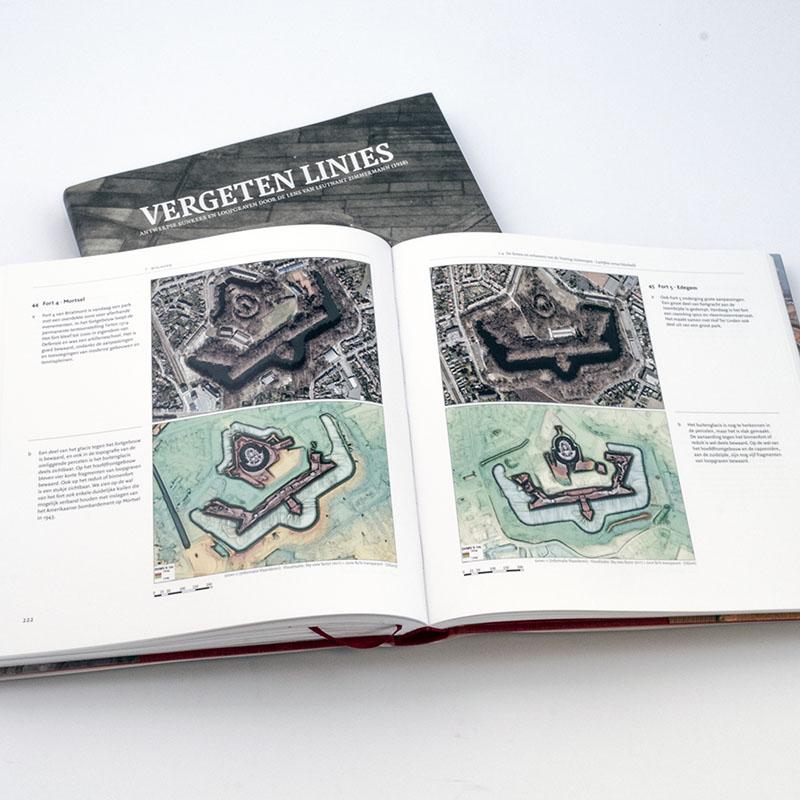 Boek Vergeten Linies