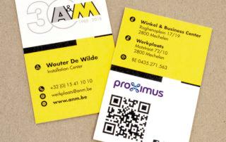 Adreskaart A&M