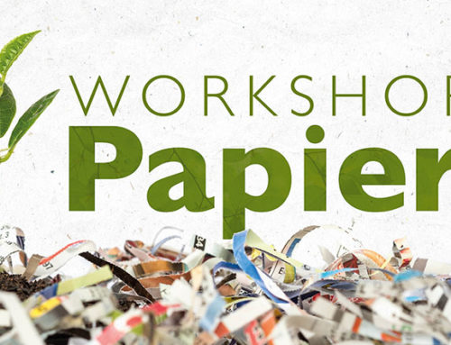 Antilope De Bie organiseert een workshop over gerecycleerd papier
