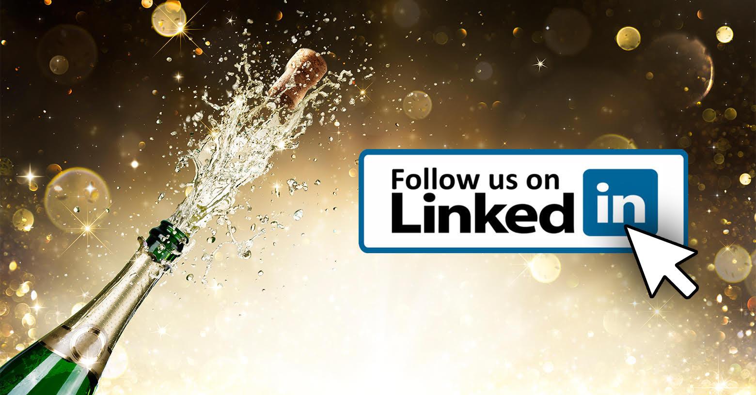 Volg ons op LinkedIn!