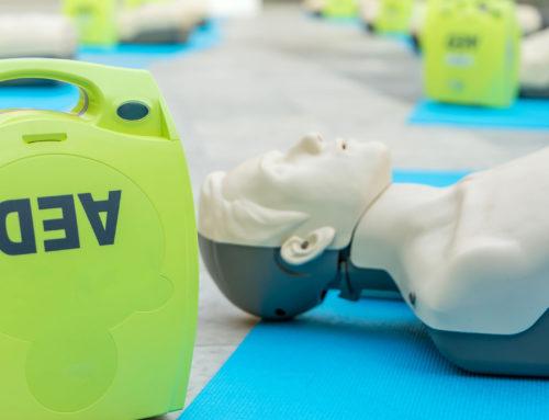 Antilope De Bie koopt een Automatische Externe Defibrillator
